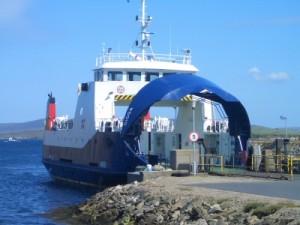 The Bigga Ferry At Gutcher