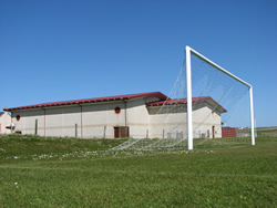 Unst Leisure Centre + Football Pitch