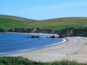 Burrafirth Beach