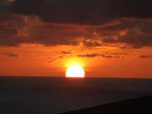 Hermaness Sunset