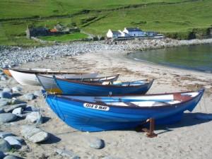 Isle O May On Norwick Beach