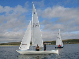 Sailing In the Regatta