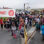 Britain's most northerly Sport Relief Mile at Baltasound