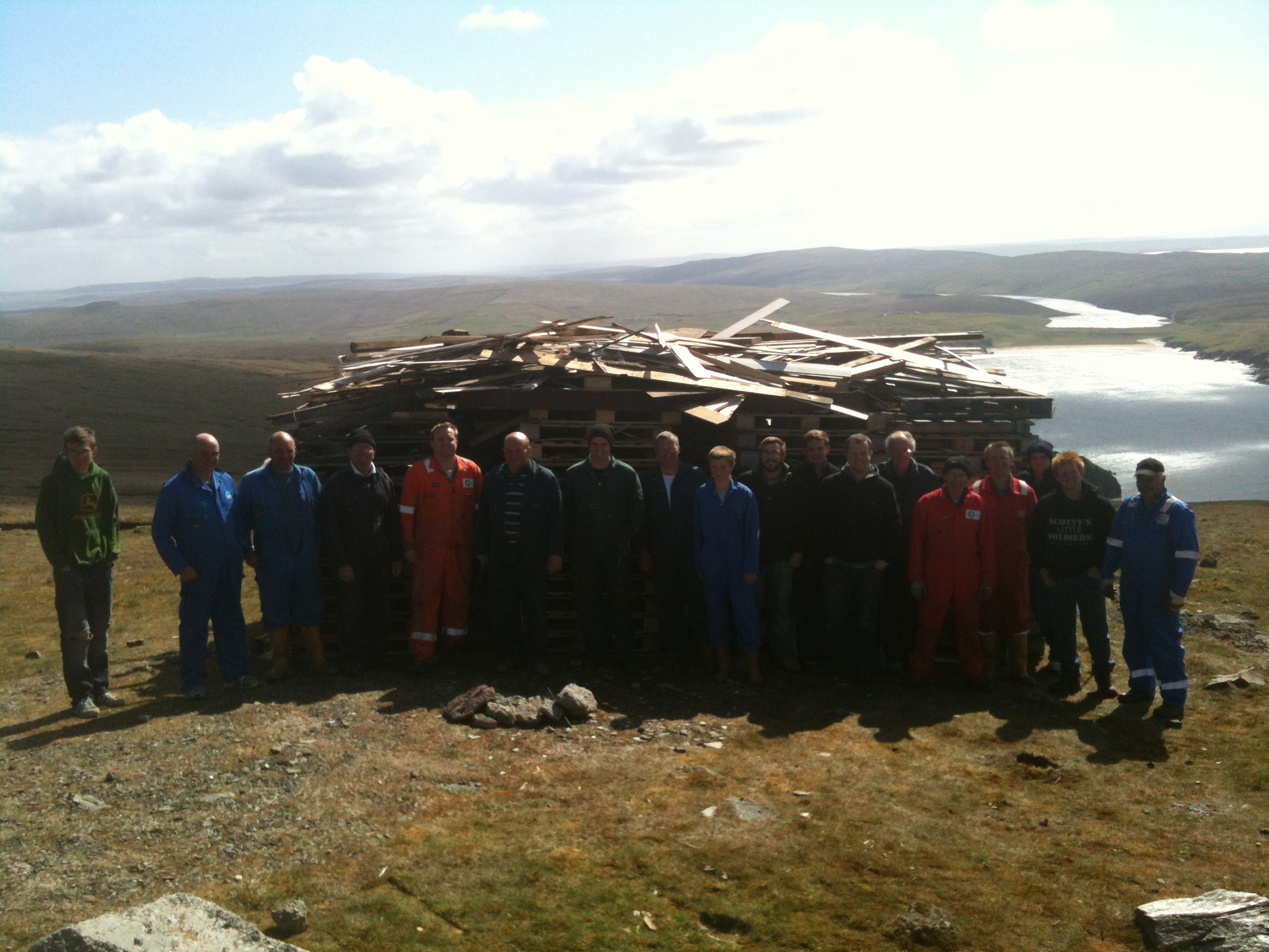 UK's Most Northerly Jubilee Beacon – UNST: The Island Above