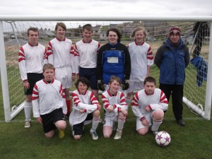 Unst's Secondary Football Team