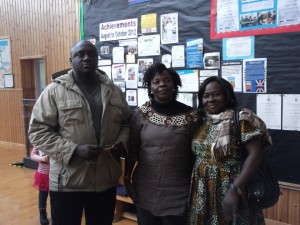 Ernest, Ruth and Veronica - Out Visitors From Ghana