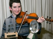 Bryden Priest - Shetland Young Fiddler of the Year 2015