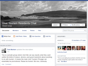Unst Residents Chat Group