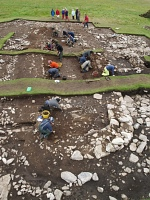 Underhoull Excavations