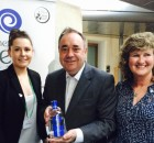Alex Salmond pops by to say hello!